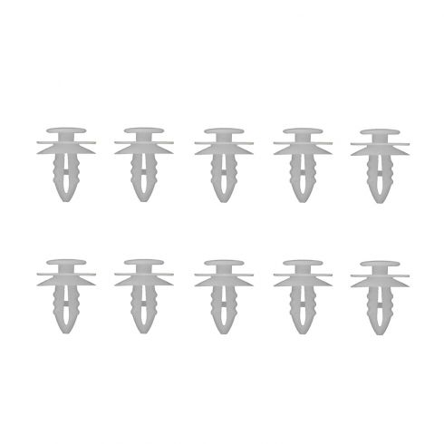 86-97 Accord; 92-00 Civic; 97 CL Door Panel Fastener (Set of 10) - For help when