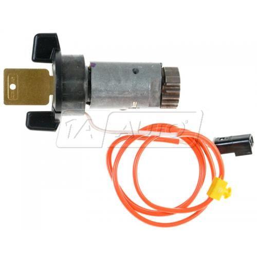 89-93 Cadillac Allante; 89-91 Eldorado, Seville Ignition Lock Cylinder w/Key (AC DELCO)