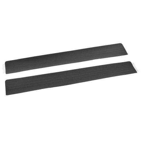 04-14 F150 New Body Ft or RR Dr Charcoal Black Self Adhesive Door Opening Sill Scuff Plate PR (Ford)
