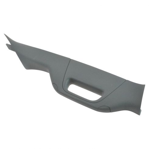11-16 Ford F250SD-F550SD Front Inside A Pillar Steel Gray Garnish Molding w/Pull Handle RF (Ford)