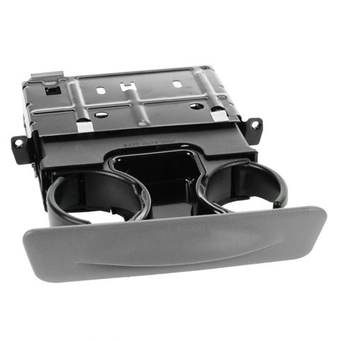 00-01 Ford Excursion; 99-01 F250SD-F550SD Graphite Dash Mtd Dual Cup Holder (FORD)