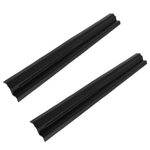 97-06 Jeep Wrangler Black Plastic Door Sill Entry Guard Kit (MOPAR)