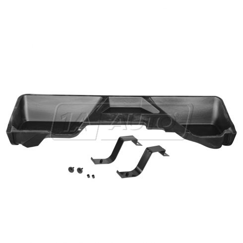 07-13 Silverado, Sierra 1500-3500 Ext Cab New Body Rear Underseat Molded Plastic Storage Box (GM)