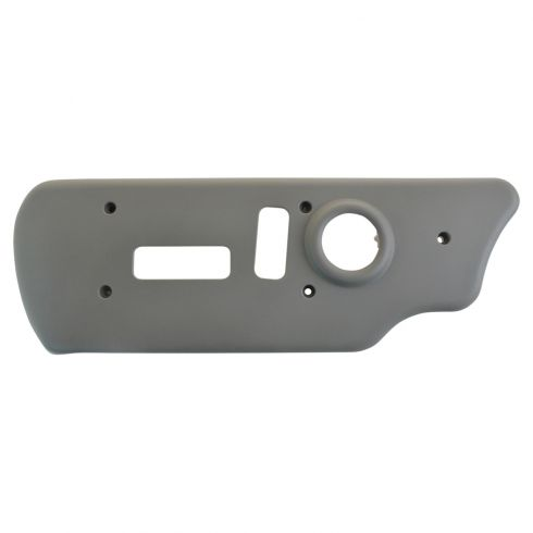 03-07 Silverado, Sierra Classic; 03-06 FS SUV Front Power Seat Trim Outer Pewter Bezel LF (GM)
