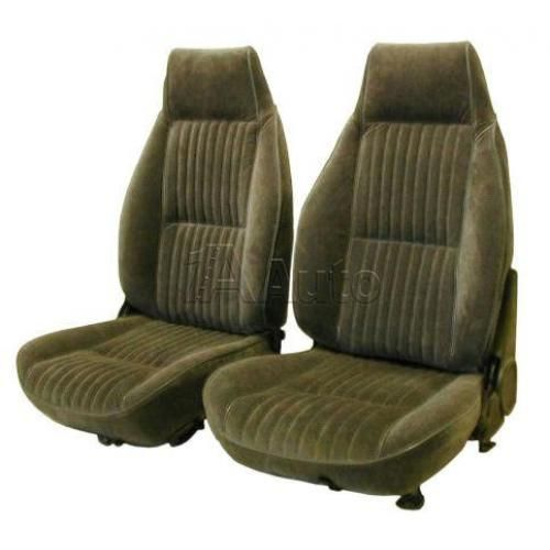 1982-85 Chevy Camaro High Back Front Bucket Seat Upholstery in Encore Velour