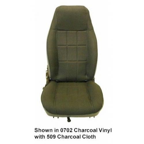 1982-93 Vinyl Bucket Seat Upholstery pattern 2