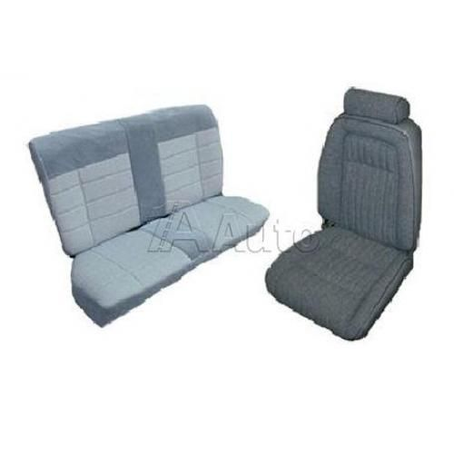 1992-93 Ford Mustang GT Coupe Seat Cover Upholstery Kit Cloth & Vinyl Combination