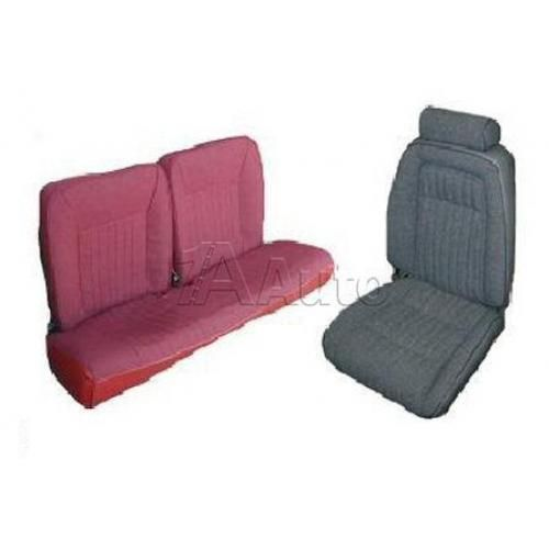 1992-93 Ford Mustang GT Hatchback Seat Cover Upholstery Kit Cloth & Vinyl Combination