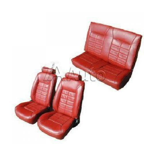 1984-86 Ford Mustang Convertible Seat Cover Upholstery Kit in Vinyl