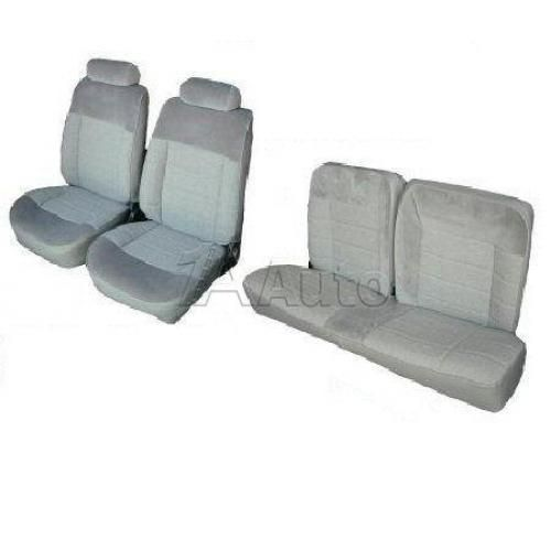 1983-93 Ford Mustang Base Model Hatchback Seat Cover Upholstery Kit in Vinyl