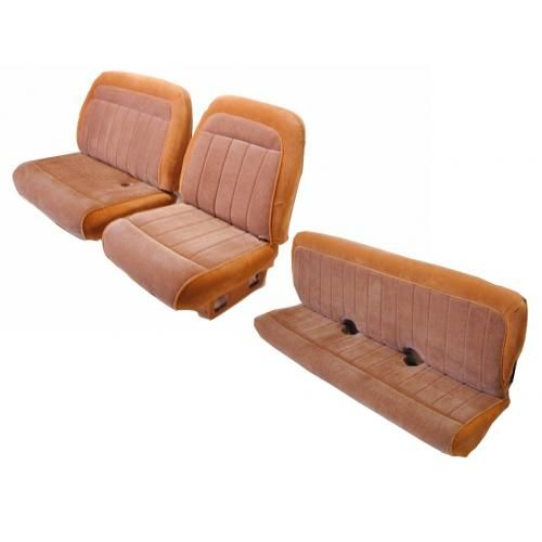 1988-91 60/40 Front and Rear Bench Vinyl Seat Upholstery