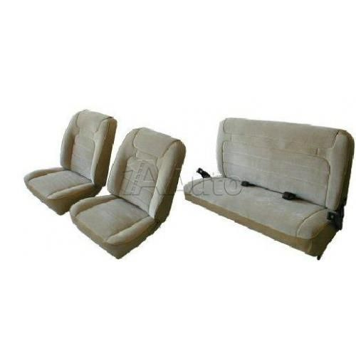 1978-79 Bronco Low Back Bucket Seat Cover Set Cloth