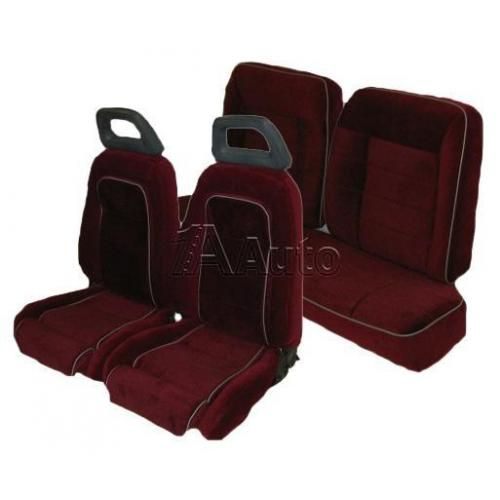 1984-86 Ford Mustang GT Hatchback  Seat Cover Upholstery Kit Cloth