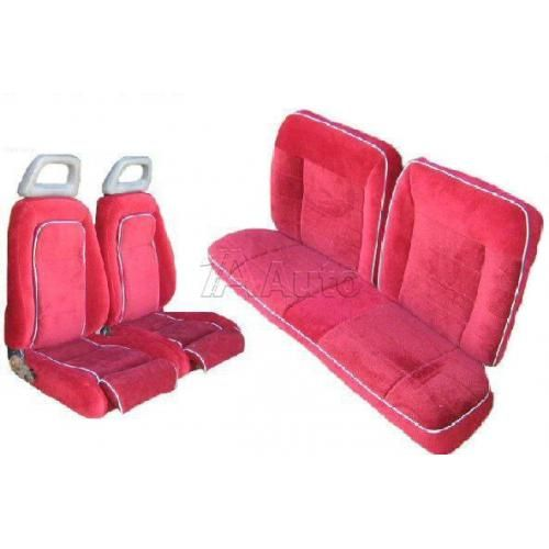 1984-86 Ford Mustang GT Convertible Seat Cover Upholstery Kit Cloth