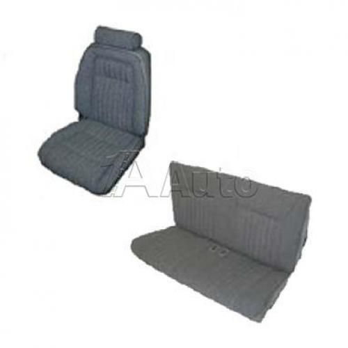 1992-93 Ford Mustang GT Convertible Seat Cover Upholstery Kit Cloth & Vinyl Combination