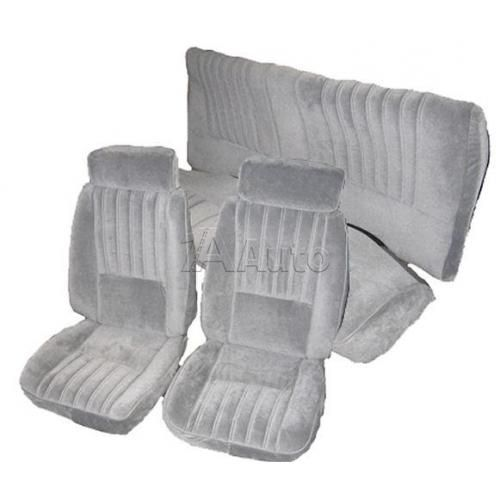 1981-88 Buick Regal and T-Type Seat Cover Upholstery for Bucket Front Seats Rear Bench in Cloth