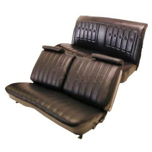 1973-77 Monte Carlo Malibu Cutlass Regal Grand Prix Seat Cover Upholstery Set in Cloth & Vinyl