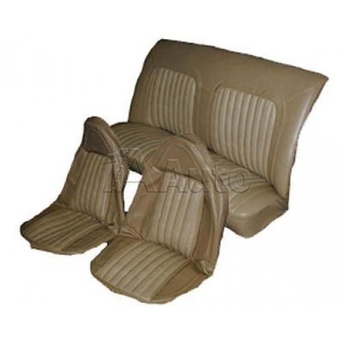 1973-77 Olds 442 Swivel Bucket Seat Upholstery Set Oxen and Madrid Grain Vinyl