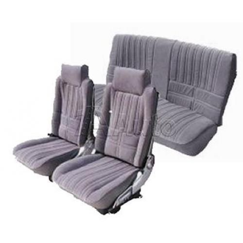 1981-87 Olds Cutlass Supreme 442 & Hurst Olds Seat Upholstery Set High Back Bucket Seats and Rear Bench in Encore Velour