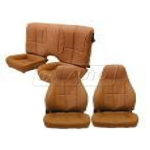 1993-96 Chevy Camaro Seat Set for Solid Rear Backrest in Hampton Vinyl Leatherette