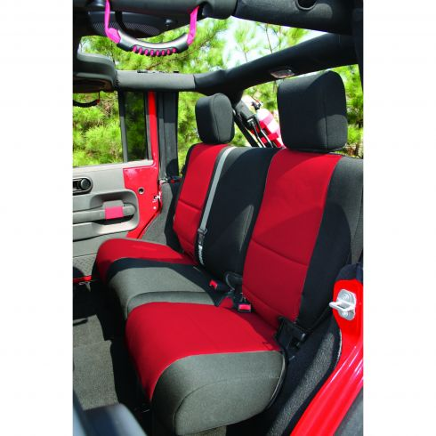 Neoprene Rear Seat Cover, 07-14 Jeep Wrangler Unlimited (JK)