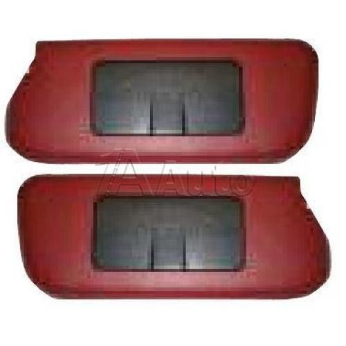 1985-88 Ford Mustang Sunvisor Set for Sunroof and T-Top