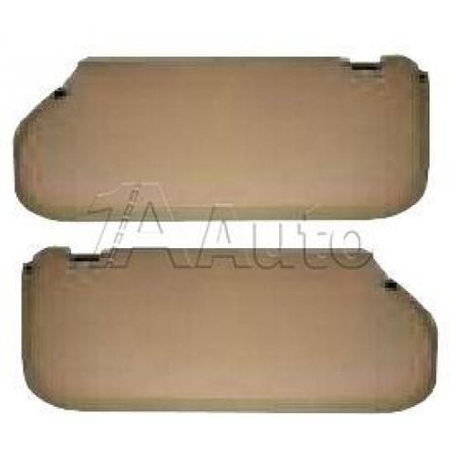 1979-93 Ford Mustang Sunvisor Set Hatchback Coupe