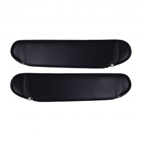 Replacement Sun Visors, Black, 87-95 Jeep Wrangler (YJ)