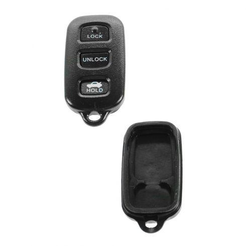 97 Toyota Camry FOB Keyless Remote Case w/Plastic Insert