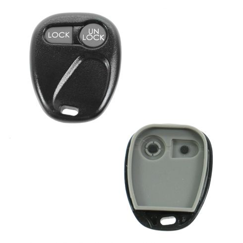 91-02 GM Multifit (2 Button) Keyless Remote Case w/Insert (FCC ID: AB01502T)