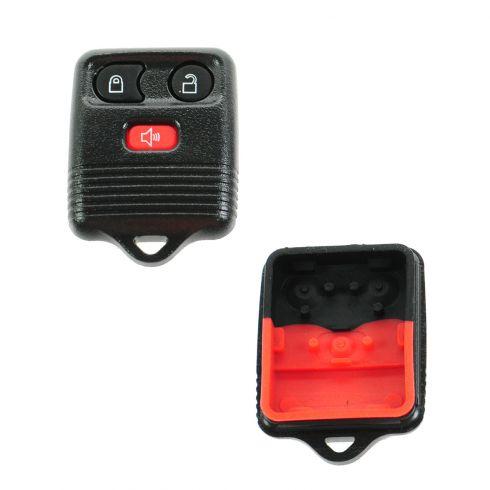 98-13 Ford Multifit Keyless Remote Case w/Insert (ID: CWTWB1U331, CWTWB1U212, CWTWB1U345)