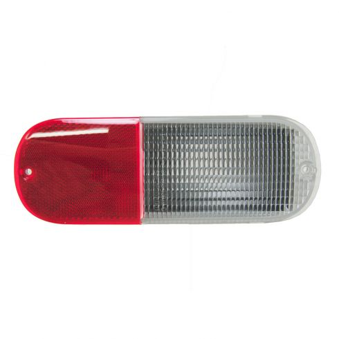 Reverse Light Reflector Lens Driver or Passenger Side