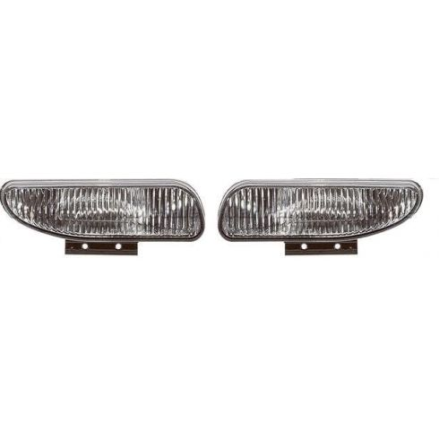 1994-02 Ford Mustang Fog Driving Lamp Pair (Exc Cobra)