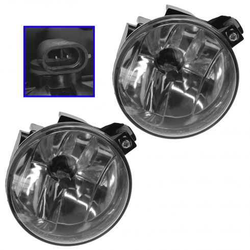 2001-04 Dodge Dakota Fog Driving Lamp Pair