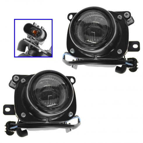 1997-99 Mitsubishi Eclipse Fog Driving Light Pair