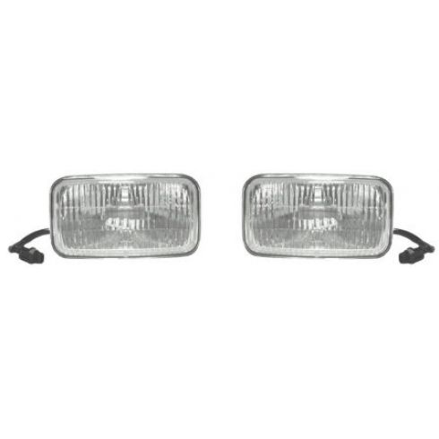 1993-95 Jeep Grand Cherokee Wagoneer Fog Driving Lamp Pair