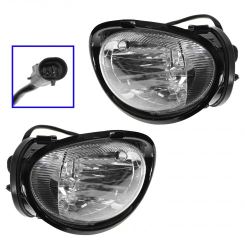 1998-04 Dodge Intrepid Fog Driving Lamp Pair