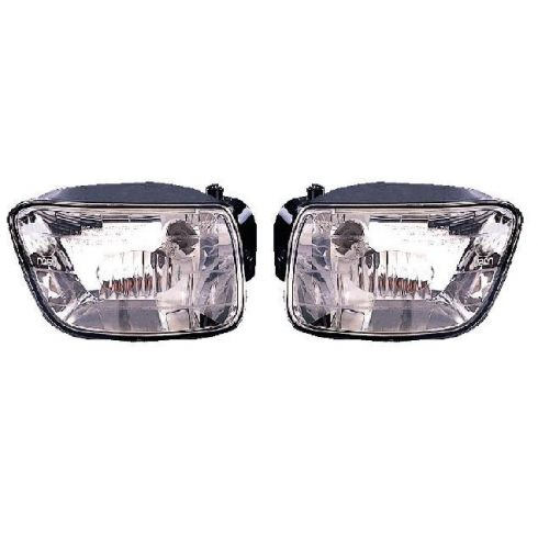 2002-04 Chevy Trailblazer Fog Driving Lamp Pair