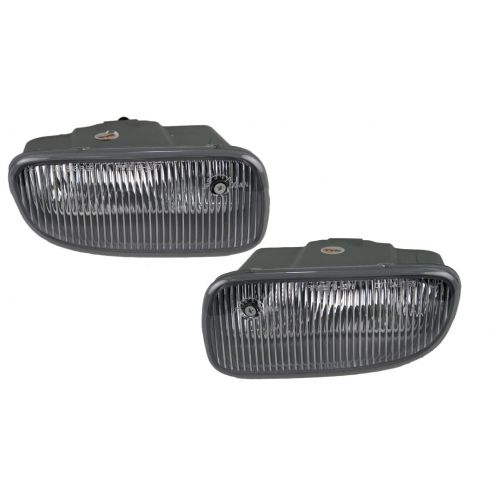 99-03 Jeep Grand Cherokee Fog Light (Clear Lens) Pair
