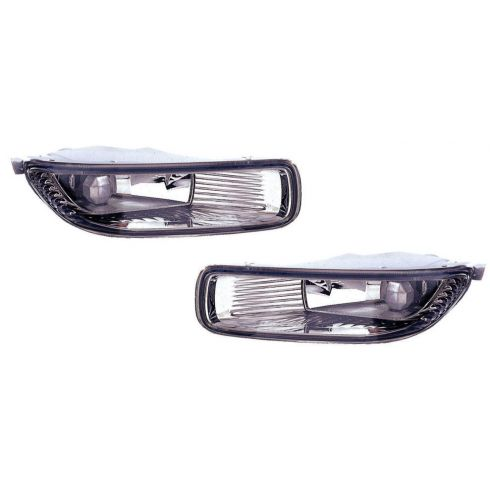 2003-04 Toyota Corolla Fog Driving Light Lamp Pair