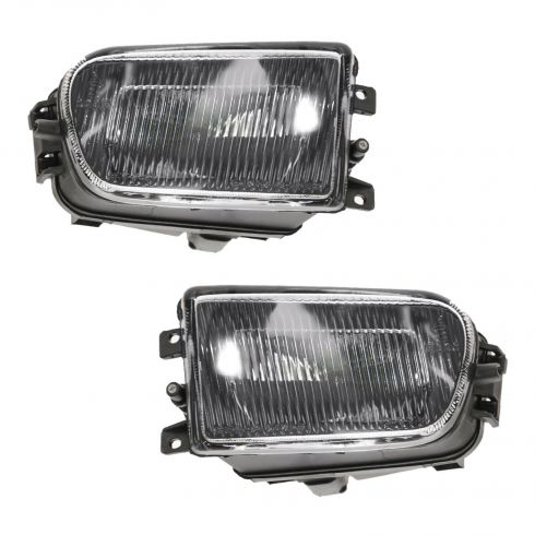 97-00 BMW 5 Series Fog Driving Light Lamp Pair