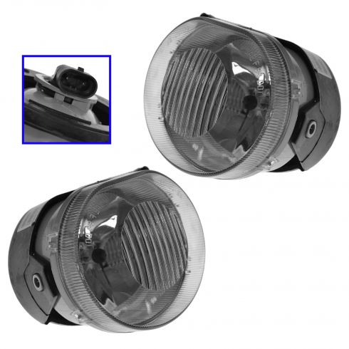 2002-04 Jeep Liberty Fog Light Pair