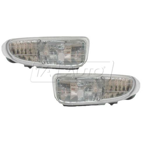2000 Dodge Neon Fog Light Pair