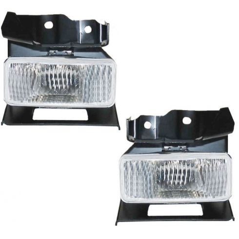95-98 Ford Explorer (exc Limited); 97-98 Mountaineer (w/Rect Shape) Fog Light Pa