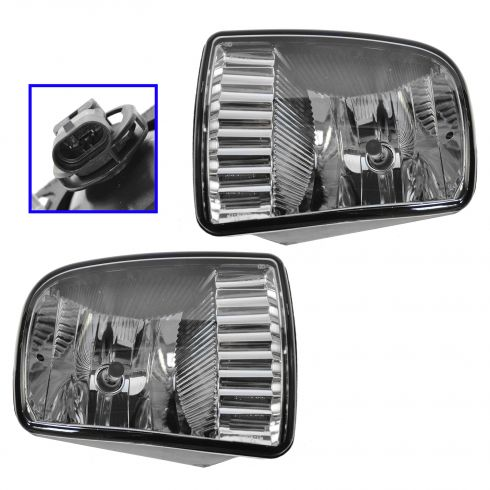 2000-02 Lincoln LS Fog Light Pair