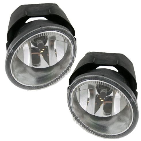 2003-04 Nissan Xterra Frontier Fog Light Pair