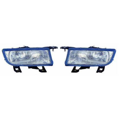 1999-03 Saab 9-3; 1999-01 Saab 9-5 (w/o cornering lamps) Fog Light PAIR