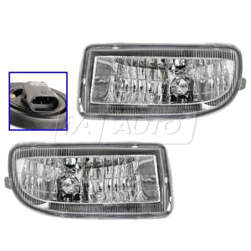 98-05 Toyota Land Cruiser Fog Light Pair
