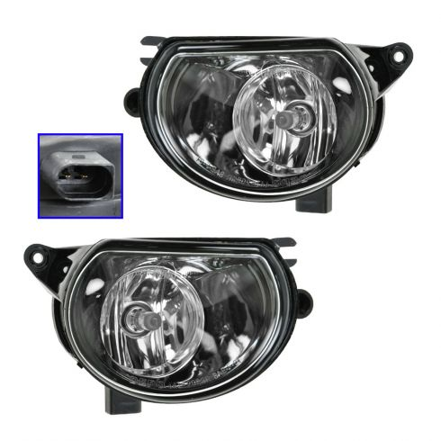 06-08 Audi A3 Q7 Fog Light (Except Sport) Pair
