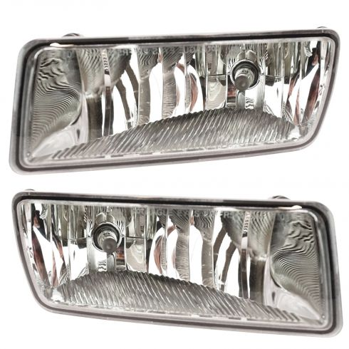 2006-08 Ford Explorer; 2008 Sport Trac w/Clear Rectangular Lens Fog Light PAIR